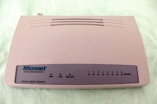 Prodám  switch MICRONET 608A.