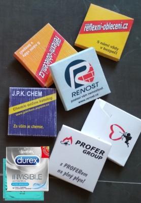 Reklamní prezervativy