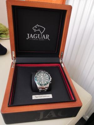 Luxusní pánské švýcarské hodinky JAGUAR - Praha