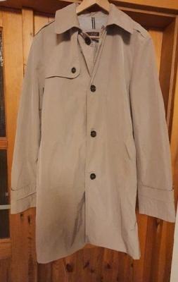 Pánský trench coat velikost 54