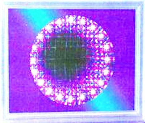 Svítící obraz DIAMOND s proměnami - vhodné i pro snoezelen