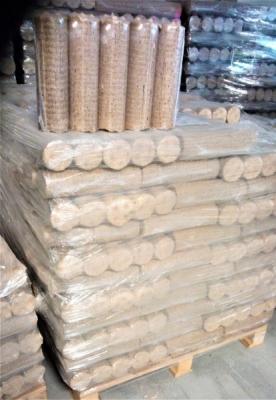 Dřevěné válcové brikety 5,10kč/KG + DOPRAVA ZDARMA