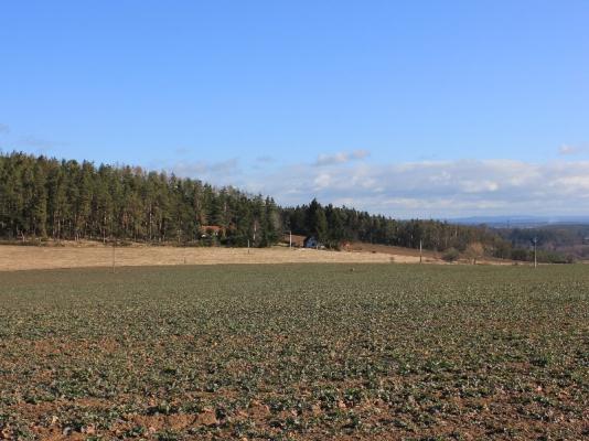 Stavební pozemek 3300 m2 v Jižních Čechách