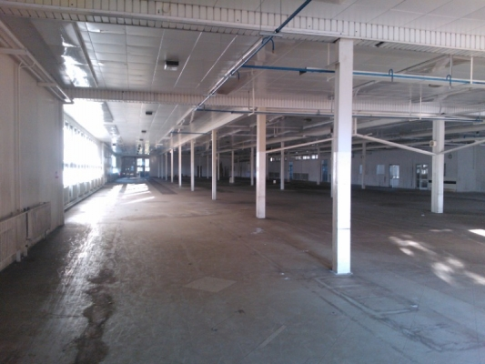 Pronájem skladovacích a výrobních prostor, lokalita Slušovic