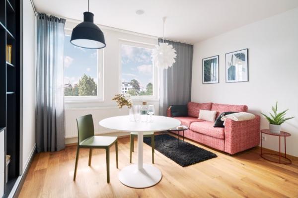 Prodej 2+kk, plocha 35,1 m2,  2.NP,   Praha 2 Vinohrady